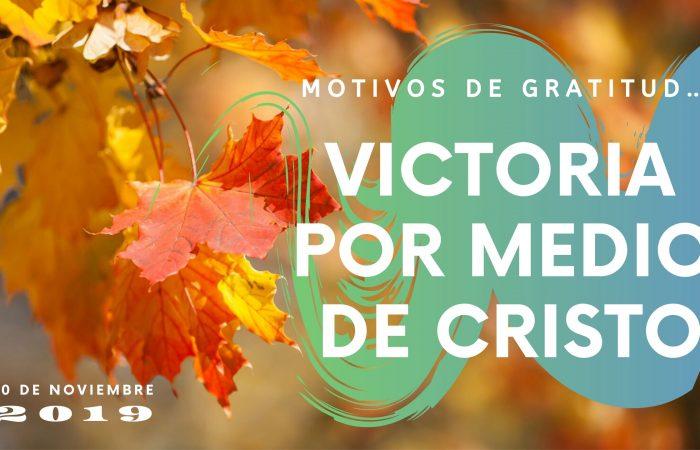 MOTIVOS DE GRATITUD...